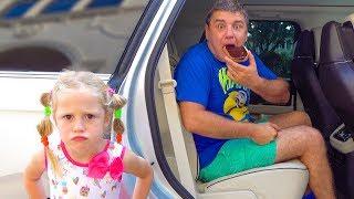 Nastya trở thành Nanny cho cha
