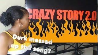 King Von - Crazy Story 2.0 ft Lil Durk  {  } REACTION