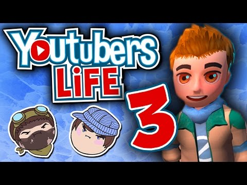 Youtubers Life: Party Time! - PART 3 - Steam Train  