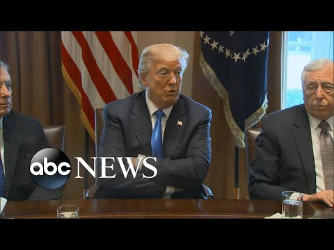 Trump blames Democrats for impasse on immigration reform