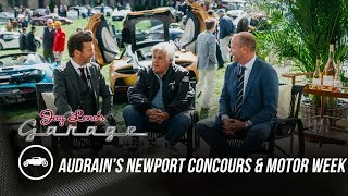 homepage tile video photo for First Ever Audrain's Newport Concours and Motor Week - Jay Leno's Garage