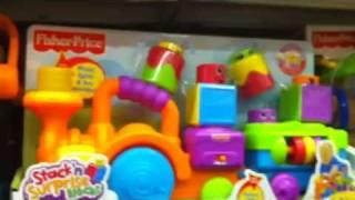 Peek-A-Boo-Choo Child Blocks