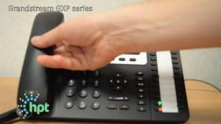 How to set up and cancel do not disturb on a hosted GXP series Grandstream phone