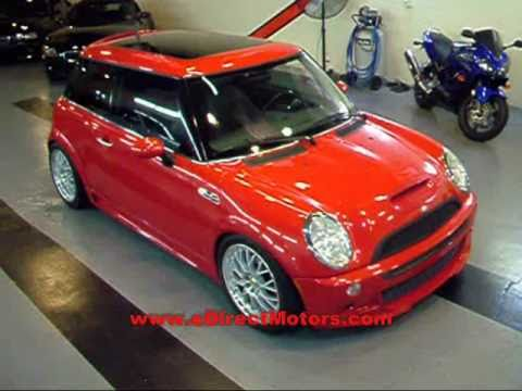 2004 mini cooper s jcw edirect motors youtube. Black Bedroom Furniture Sets. Home Design Ideas