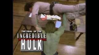 ▶ The Trial of the Incredible Hulk (1989) - Trailer