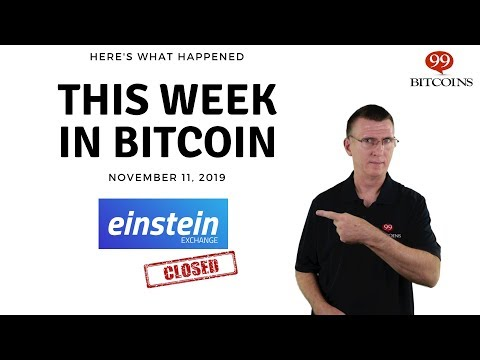 This Week In Bitcoin - Nov 11th, 2019