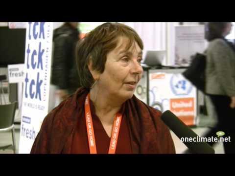 OneClimate talks to Rachel Berger of Practical Action at COP15 in Copenhagen - 2