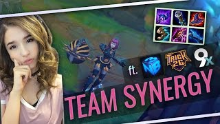 Pokimane ~ TEAM SYNERGY FT. NIGHTBLUE3, TRICK2G, MIKE69x