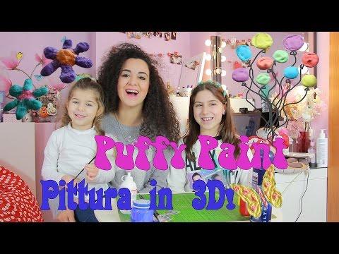 Puffy Paint - Pittura 3D FATTA IN CASA | Cinzia Cavaleri