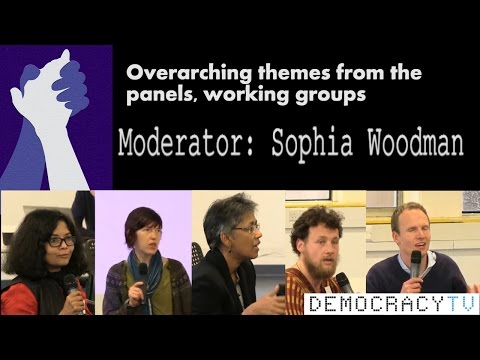 Academic freedom: Overarching themes from the panels, working groups