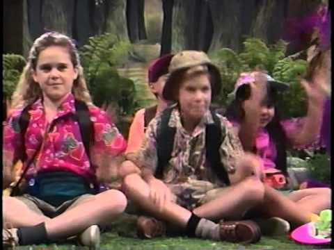 barney the backyard gang campfire sing along original version