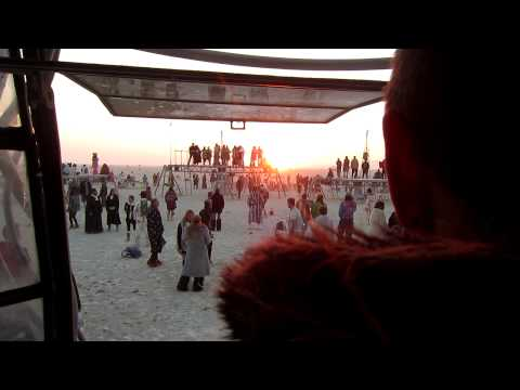 Syd Gris, Last Sunrise Set at Opulent Temple, Burning Man 2012