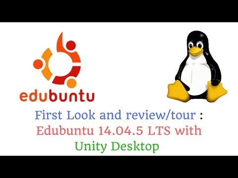 Ubuntu for Educators: Edubuntu 14.04.5 LTS with Unity Desktop - sneak peak