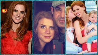 sarah rafferty donna in suits rare photos family friends lifestyle