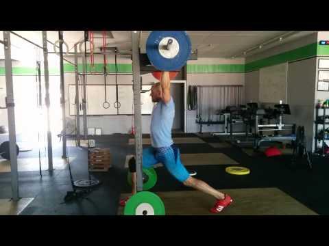 Willie McLendon 110kg jerk recovery 7/15/15