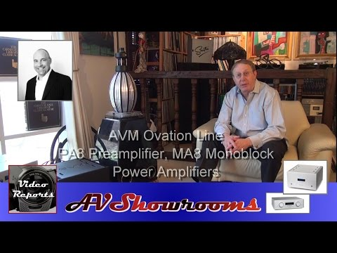 AVM Audio Amplifiers MA8, PA8 Ovation Line Conclusion