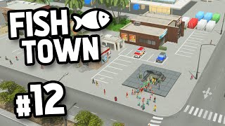 BUILDING THE SUBWAY SYSTEM - Cities Skylines FishTown #12