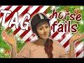 TAG про падения с лошадей :D   horse fails