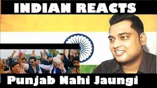 Indian reacts  to punjab nahi jaungi (trailer) | review | by mayank