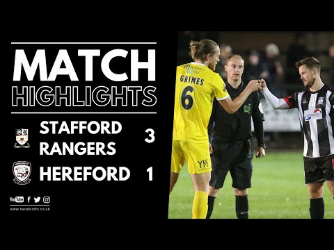 Stafford Hereford Goals And Highlights