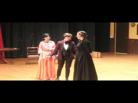 The Broadway musical Little Women