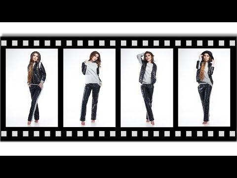 Женские теплые костюмы тройка - 7555