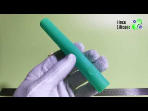 Silicone rubber custom Handle Holder Sleeve Cover Grip  – made by sincosilicone