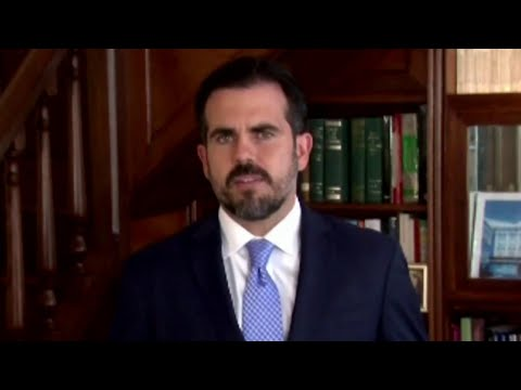 Puerto Rico governor steps down