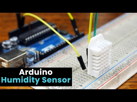 Arduino Humidity Sensor Using The DHT22
