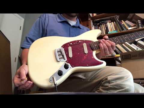 1964 Fender Duo-Sonic II Pre-CBS 1963 Vibroverb