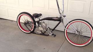 Custom Motorized Felt el Guapo Lowrider rat rod