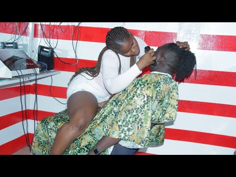 Download BEST FEMALE BARBER-I DO IT BEST BECAUSE IT'S MY PROFESSION😂😍