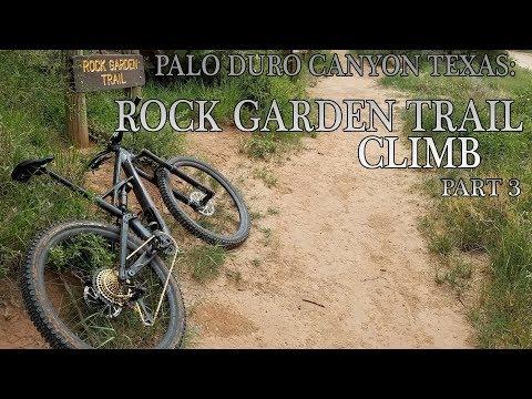 Palo Duro Canyon Texas: Rock Garden Trail Part 3
