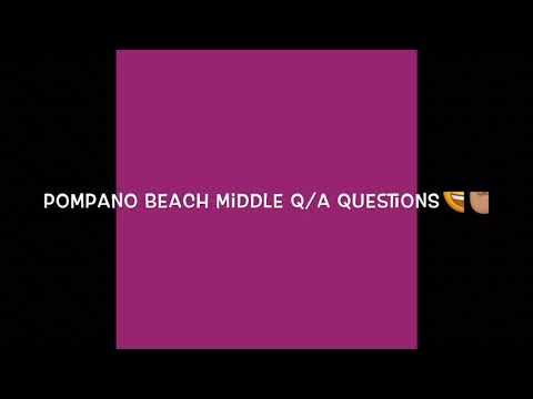 POMPANO BEACH MIDDLE SCHOOL ????