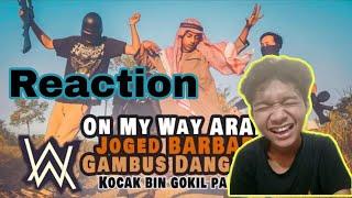 Gambar cover On My Way - Alan Walker Versi Arab Gokil | Kocaak paraahh 😂 3Way Asiska (Reaction)