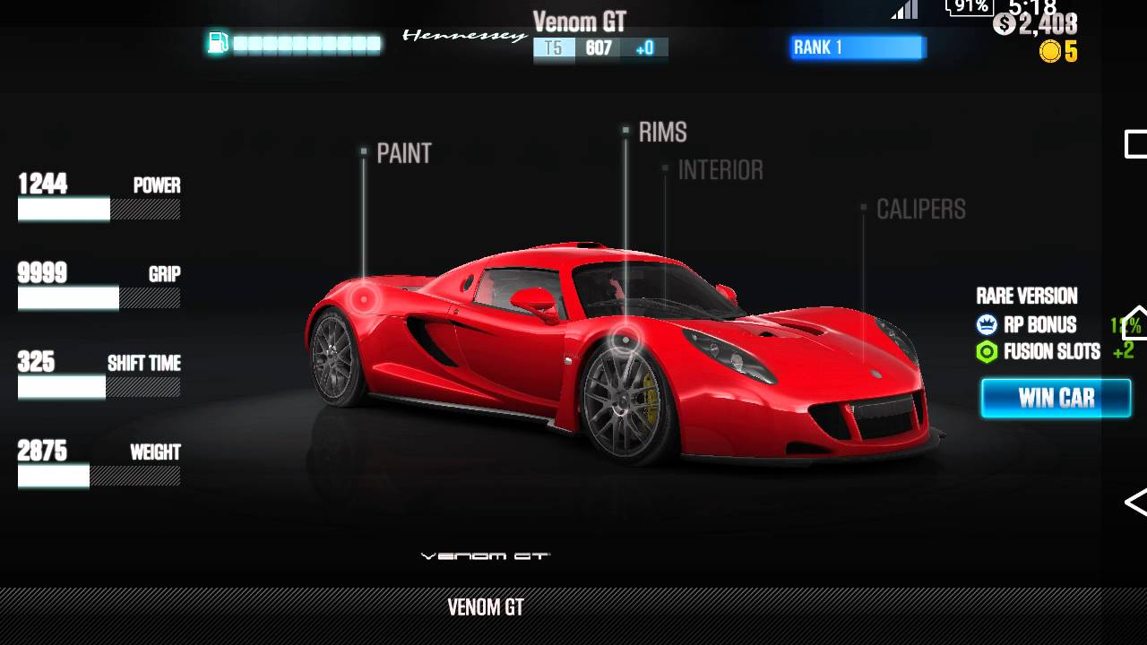CSR Racing 2 New update and car list. - YouTube