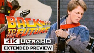 Back to the Future | Opening Scene in 4K Ultra HD | Marty McFly Is Just Too Darn Loud