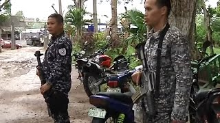 PNP joins hot pursuit operation against fugitives of North Cotabato jail break