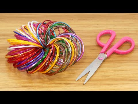 Genius old bangles Craft Idea | DIY Home Decor with old bangles | old bangles Craft DIY Home Decor