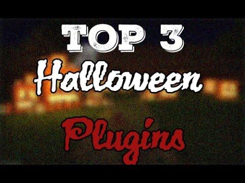 TOP 3 Halloween Plugins | Minecraft