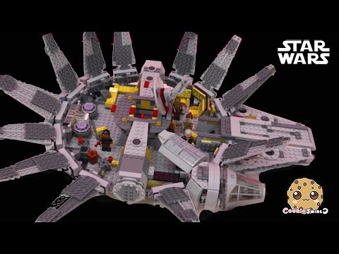 LEGO Star Wars The Force Awakens Millennium Falcon With Han Solo And Chewbacca + Blind Bag