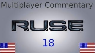 RUSE Multiplayer Commentary No.18 on Tank Graveyard 1v1 as Russia (English)