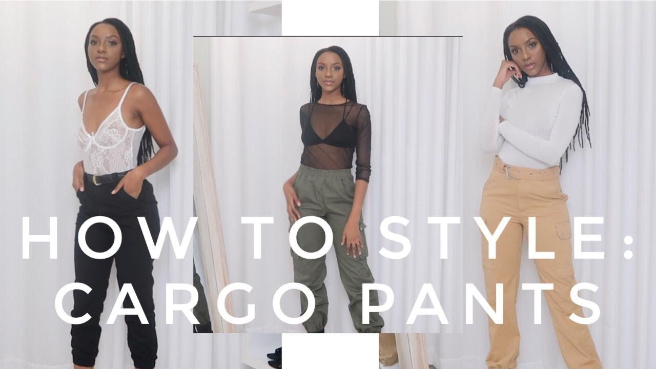 HOW TO STYLE: CARGO PANTS | SOUTH AFRICAN YOUTUBER