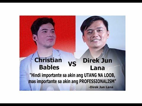 Christian Bables Wala Daw Professionalism, Direk Jun Lana Feel Betrayed