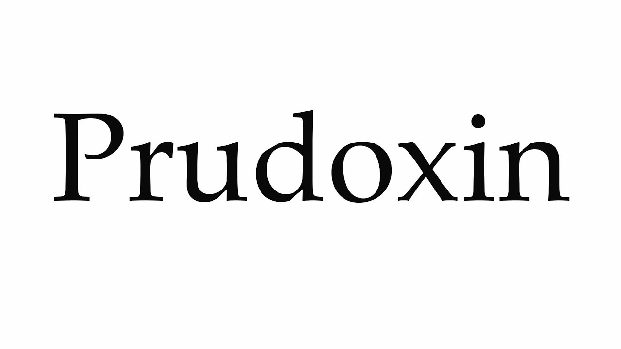 Prudoxin pictures