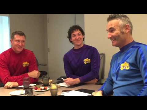 My Daughter's Interview With The Wiggles