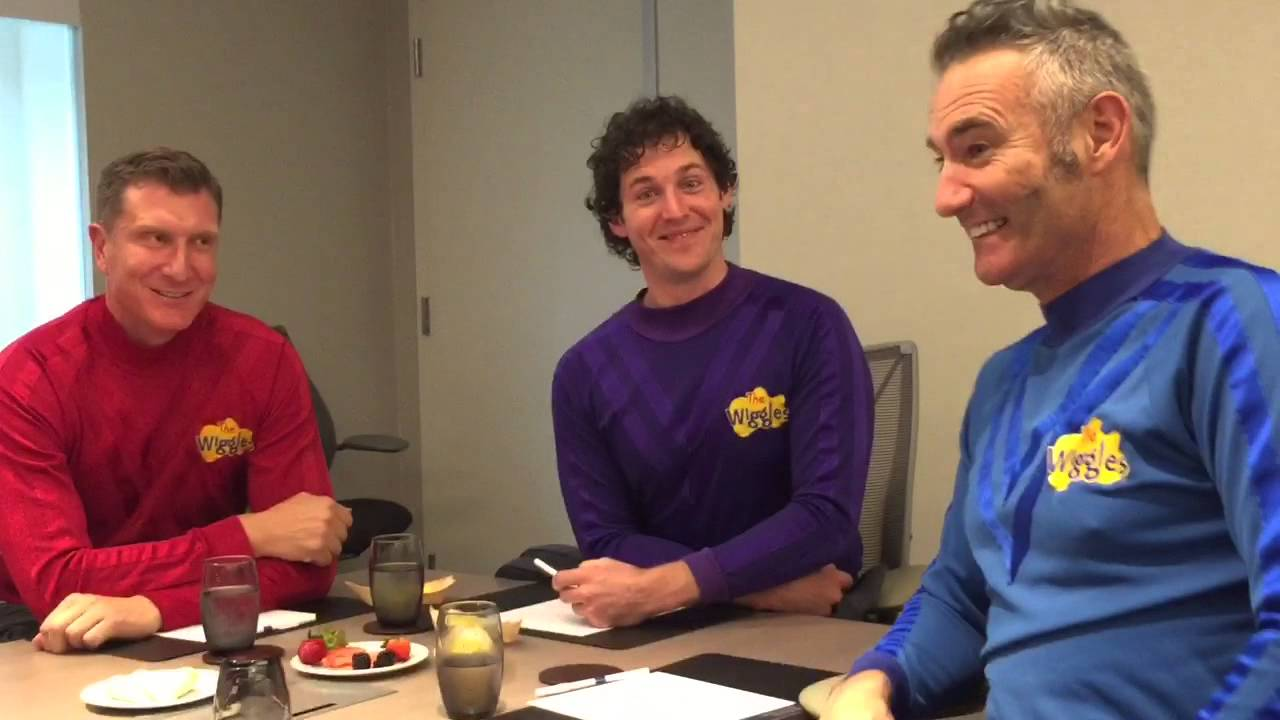 My Daughter S Interview With The Wiggles Youtube
