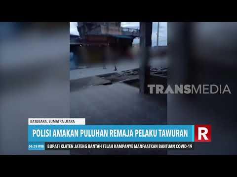 Polisi Amankan Puluhan Remaja Pelaku Tawuran | REDAKSI PAGI (27/04/20)
