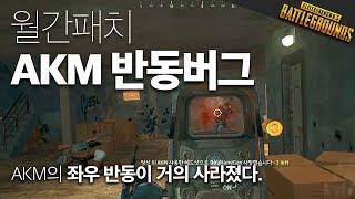 AKM 반동 버그, 일시적 사기총으로 9킬 우승. | 배틀그라운드 스쿼드 | 윤루트