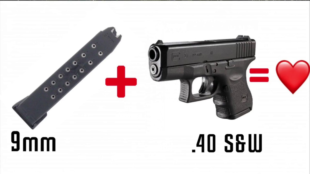 9mm Glock magazine work in a .40 cal ???